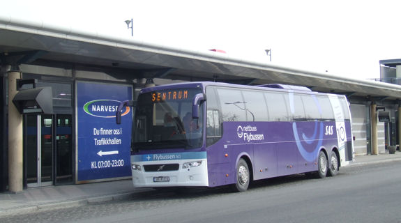 Trondheim airport bus price